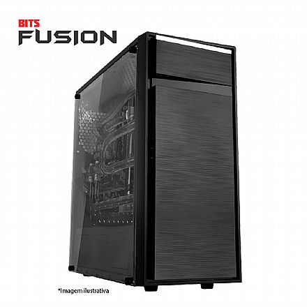 PC Gamer Bits FUSION - Intel® i5, 8GB, HD 500GB, Geforce GTX 1650 4GB, Windows 10 PRO - Seminovo - Garantia 2 anos