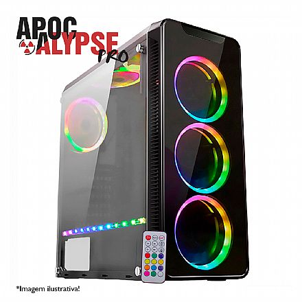 PC Gamer Bits Apocalypse PRO - Intel® i7 8700, 16GB, HD 1TB, Geforce RTX 2080 8GB