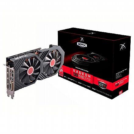 AMD Radeon RX 580 8GB GDDR5 256bits - OC+ GTS XXX Edition - XFX RX-580P8DFD6