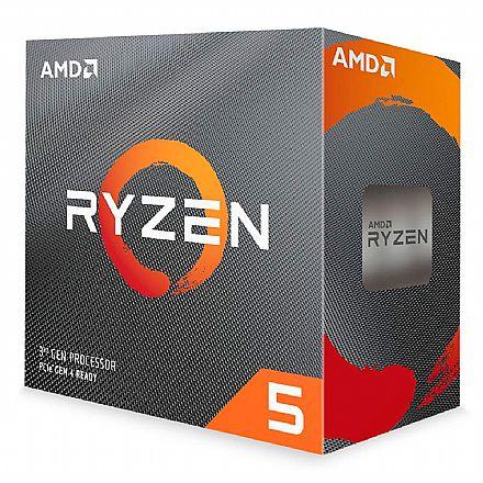 AMD Ryzen™ 5 3600 Hexa Core - 12 Threads - 3.6GHz (Turbo 4.6GHz) - Cache 32MB - AM4 - TDP 65W - Wraith Stealth Cooler - 100-100000031BOX