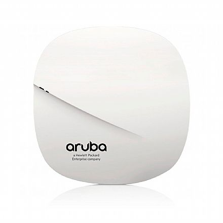 Access Point HPE Aruba IAP-207 - 1300Mbps - Dual Band 2.4 GHz e 5 GHz - 21dBm - Gigabit - PoE - Aruba Beacon Bluetooth - Montável em teto ou parede - JX954A