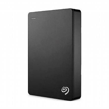 HD Externo Portátil 4TB Seagate Backup Plus - USB 3.0 - STDR4000100