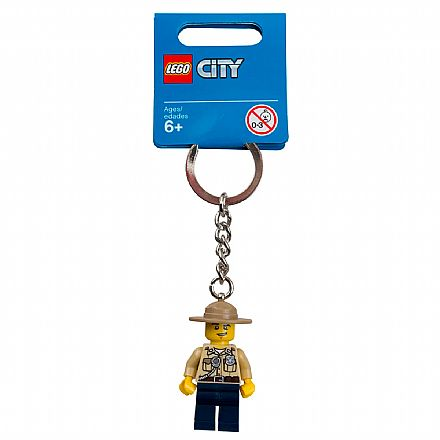 LEGO - Chaveiro - City - Polícia do Pântano - 853463