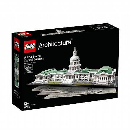 LEGO Architecture - Edifício do Capitólio dos EUA - 21030