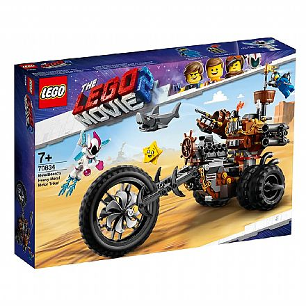 LEGO The Movie - Triciclo Heavy Metal do Barba de Ferro - 70834