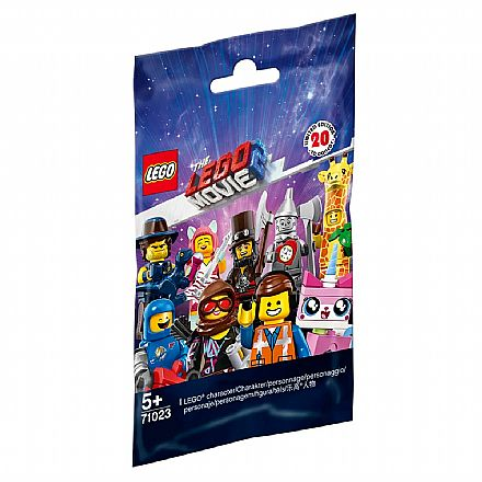 LEGO Minifiguras - The LEGO Movie 2 - Unidade Sortida - 71023