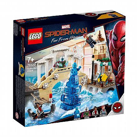 LEGO Marvel - Homem-Aranha: Longe de Casa - Ataque do Homem-Hídrico - 76129
