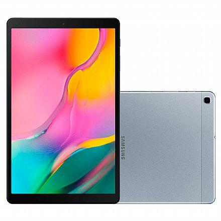 "Tablet Samsung Galaxy Tab T510 - Tela 10.1"", Wi-Fi, 32GB, Octa-Core, Câmera Traseira 8MP + Frontal 5MP - SM-T510N - Prata"