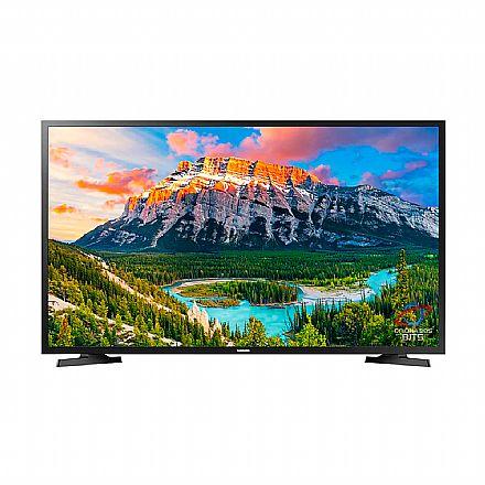 """TV 40"""" Samsung UN40J5290AGXZD - Smart TV - Full HD - Wi-Fi Integrado - HDMI/USB"""