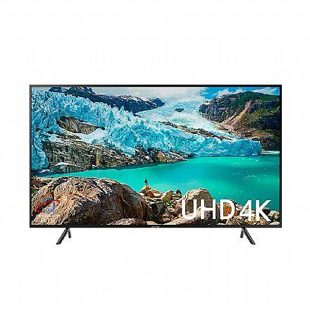 "TV 50"" Samsung UN50RU7100GXZD - Smart TV - 4K Ultra HD - HDR Premium - Wi-Fi e Bluetooth Integrado - HDMI/USB"