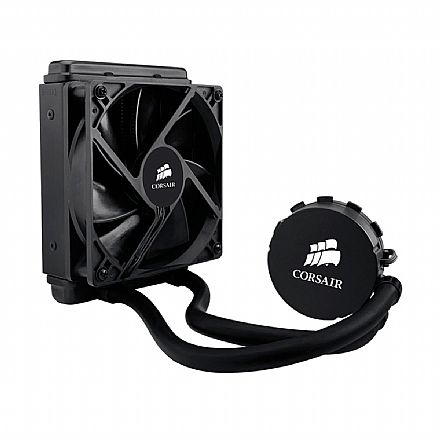Water Cooler Corsair Hydro Series H50 - para Intel - LGA 1150, 1155, 1156 e 1366 - CW-9060006-WW