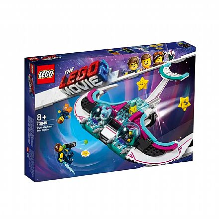 LEGO The Movie - Star Fighter de General Caos - 70849