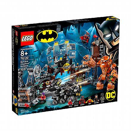 LEGO Super Heroes DC Comics - BatCaverna: Invasão do Cara de Barro - 76122