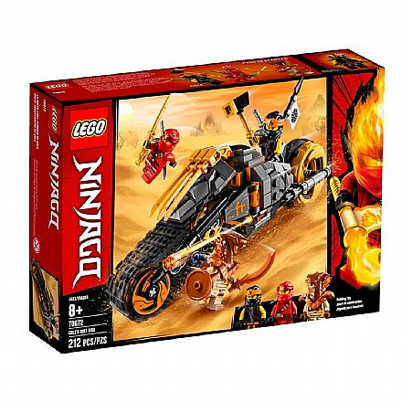 LEGO Ninjago - A Moto do Cole - 70672
