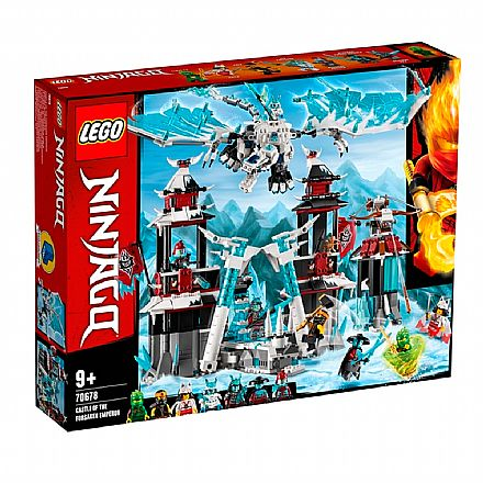 LEGO Ninjago - Castelo do Imperador Renegado - 70678