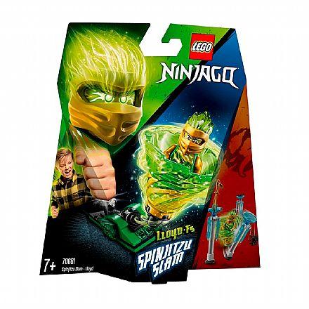 LEGO Ninjago - Lançador Spinjitzu: Lloyd - 70681