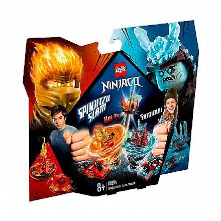 LEGO Ninjago - Lançador Spinjitzu: Kai Vs Samurai - 70684