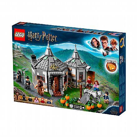 LEG0 Harry Potter: A Cabana de Hagrid: O Resgate de Buckbeak - 75947