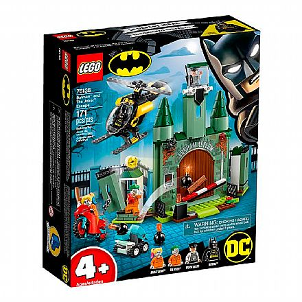 LEGO DC Super Heroes - Batman: Fuga do Coringa - 76138