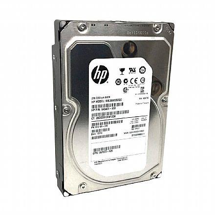 HD 2 TB SATA 3 - 6Gb/s - 7200RPM - 64MB Cache - HP - MB2000EBZQC