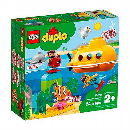 LEGO DUPLO - Aventura de Submarino - 10910