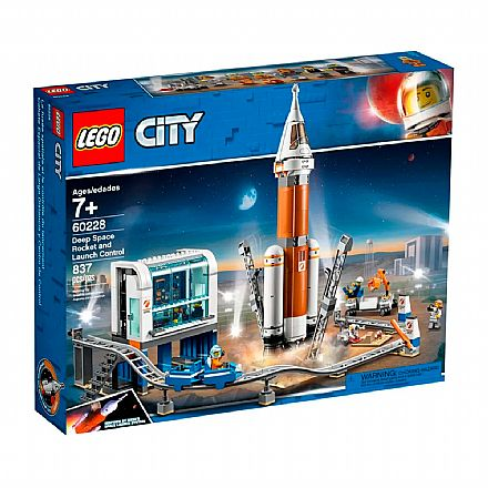 LEGO City - Controle de Lançamento de Foguetes - 60228