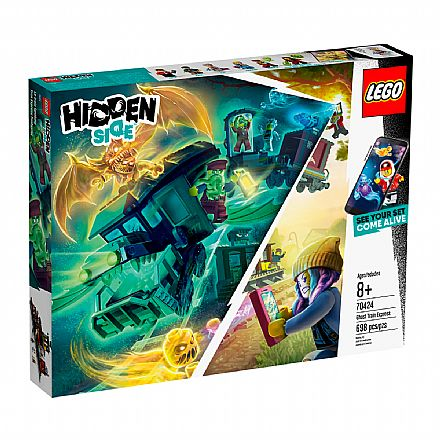 LEGO Hidden Side - Expresso Fantasma - 70424