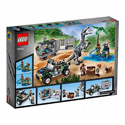 LEGO Jurassic World - Caça ao Tesouro - 75935