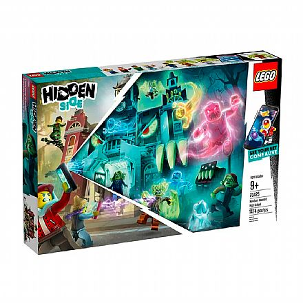 LEGO Hidden Side - Escola Assombrada de Newbury - 70425
