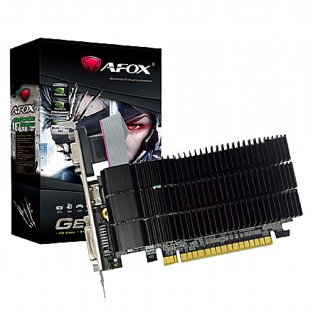 GeForce GT 210 1GB GDDR3 64bits - Low Profile - AFOX AF210-1024D3L5-V2