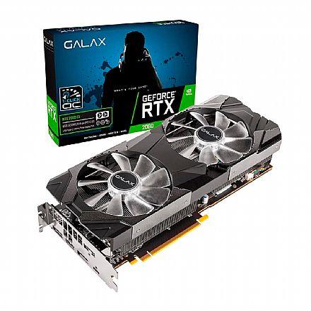 GeForce RTX 2080 8GB GDDR6 256bits - 1-Click OC - Galax EX 28NSL6UCU9EN