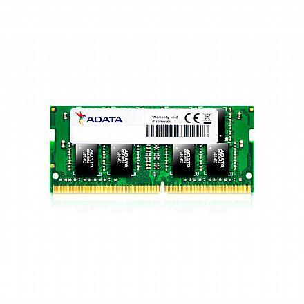 Memória SODIMM 16GB DDR4 2666MHz Adata - para Notebook - AM1P26KCST2-BBTS