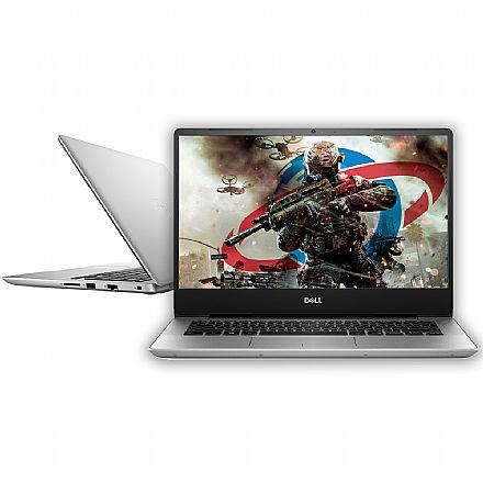 """Notebook Dell Inspiron i14-5480-A20S - Tela 14"""" Infinita Full HD, Intel i7 8565U, 8GB, HD 1TB, GeForce MX150 2GB, Windows 10 - Prata"""