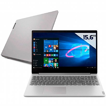 "Notebook Lenovo Ideapad S145 - Tela 15.6"" HD, Intel i5 8265U, 12GB, HD 1TB + SSD 120GB, Intel® UHD Graphics 620, Windows 10 - 81S90005BR"