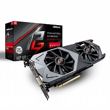 AMD Radeon RX 590 8GB GDDR5 128bits - Phantom Gaming - ASROCK