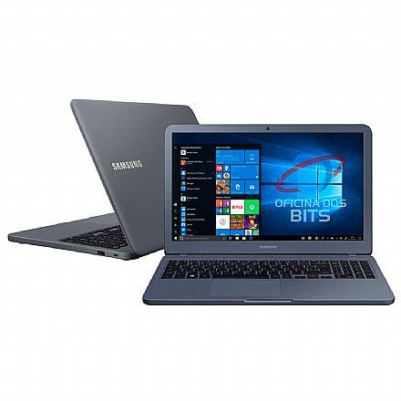 "Notebook Samsung Expert X20 - Tela 15.6"" Full HD, Intel i5 8265U, 4GB, HD 1TB, Intel® UHD Graphics 620, Windows 10 - NP350XBE-KFWBR"