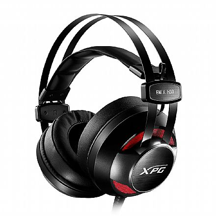 Headset Gamer Adata XPG EMIX H30 SE - Amplificador Solox, Surround Virtual 7.1 - Microfone destacável