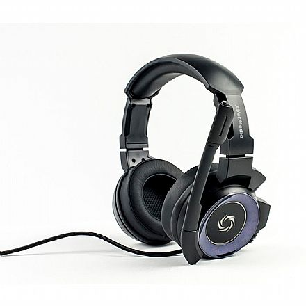 Headset Gamer Avermedia SonicWave 7.1 GH337 - Com Microfone - USB - Preto