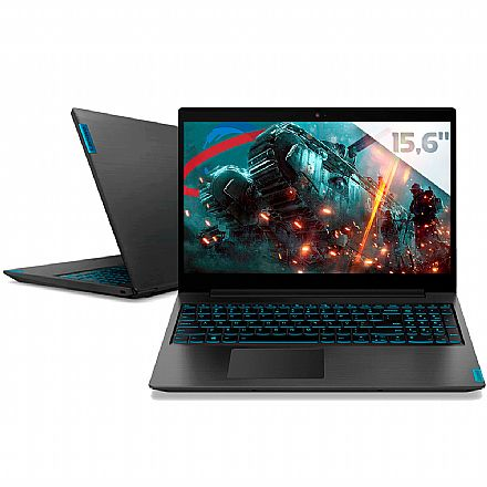 "Notebook Lenovo Gamer Ideapad L340 - Tela 15.6"" Full HD, Intel i7 9750H, 16GB, HD 1TB, GeForce GTX 1050 3GB, Windows 10 - 81TR0001BR"