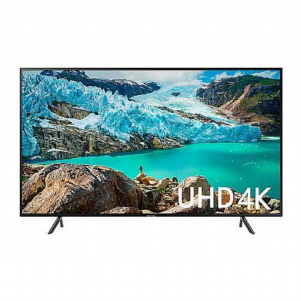 "TV 43"" Samsung UN43RU7100 - Smart TV - 4K Ultra HD - HDR Premium - Wi-Fi e Bluetooth Integrados - Controle Remoto Único - HDMI/USB"