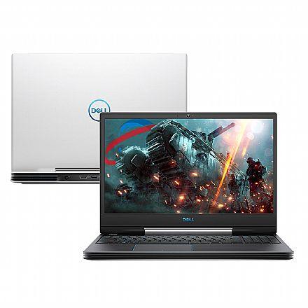 "Notebook Dell Gaming G5-5590-A30B - Tela 15.6"" Full HD IPS, Intel i7 9750H, 32GB, HD 1TB + SSD 256GB, GeForce GTX 1660Ti 6GB, Windows 10 - Branco"