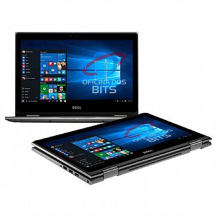 "Notebook Dell Inspiron i13-5378-R30C 2 em 1 - Tela 13.3"" Touch Full HD, Intel i7 7500U, 16GB, HD 1TB, Windows 10 - Garantia 1 ano - Seminovo"