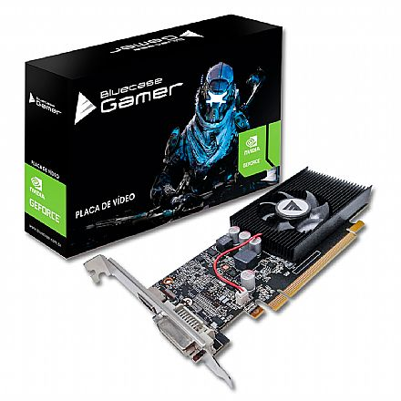 GeForce GT 1030 2GB GDDR5 64bits - Bluecase - BP-GT1030-2GD5A1