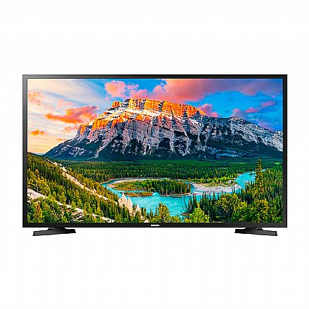 """TV 43"""" Samsung UN43J5290 - Smart TV - Full HD - Wi-Fi Integrado - Screen Mirroring - HDMI/USB"""
