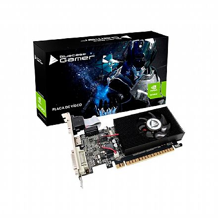 GeForce GT 610 2GB GDDR3 64bits - Bluecase - BP-GT610-2GD3D1