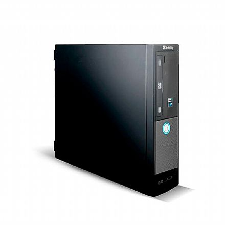 Computador Itautec Infoway SM 3322 - AMD Phenom Z550, 4GB, HD 320GB, DVD, Windows 7 Pro - Garantia 1 ano - Seminovo