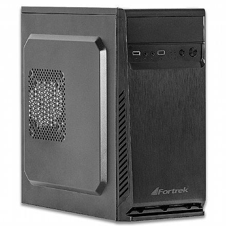 Gabinete Fortrek ATX SC501BK - USB 1.1 e Áudio Frontal - Preto