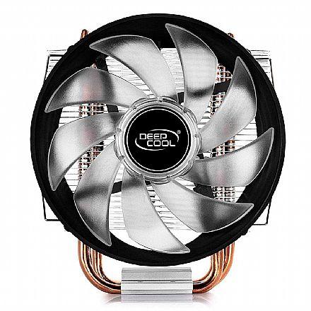 Cooler Deepcool Gammaxx 300R (AMD / Intel) - LED Vermelho - DP-MCH3-GMX300RD