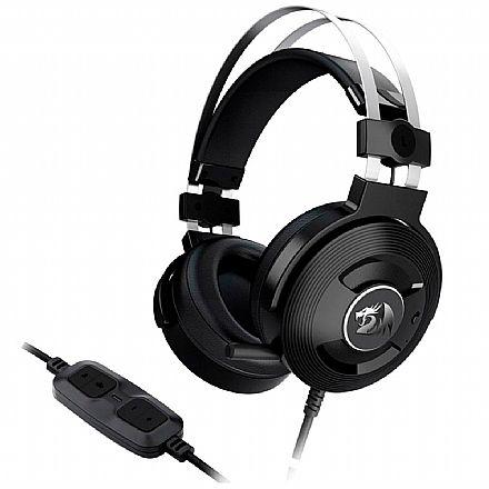 Headset Redragon Triton 7.1 - USB - Controle de Volume e Vibração - com Cancelamento de Ruidos Ativo - H991