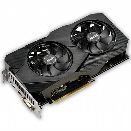 GeForce GTX 1660 6GB GDDR5 192bits - OC Edition - Asus DUAL-GTX1660-O6G-EVO